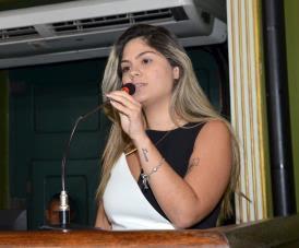 vereadora Marcelle Moraes