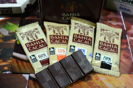 Chocolates de fábrica da agricultura familiar
