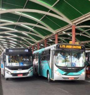 Ônibus extras reforçam transporte público para o domingo de eleição