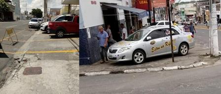 Ex-vereador critica situação de calçadas em Feira de Santana-montagem Política In Rosa