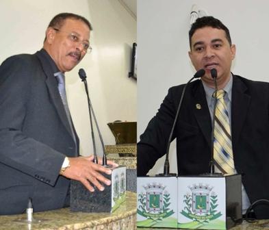 Alberto Nery e Marcos Lima-montagem Política In Rosa