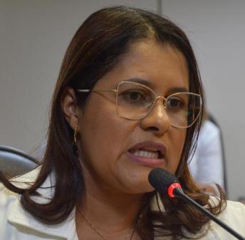 Deputada estadual Kátia Oliveira