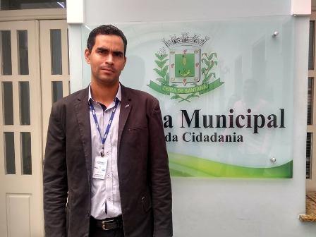 Diretor da Embasa Euvaldo Neto - Foto site Política In Rosa Anderson Dias