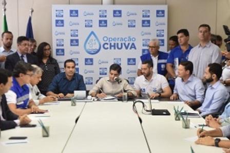 Operação Chuva 2019 terá investimento de R$ 70 milhões em tecnologia e obras