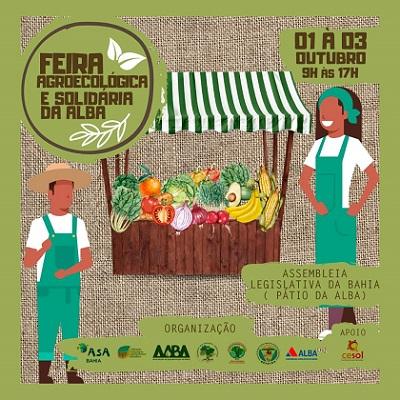 ALBA promove Feira Agroecológica e Solidária
