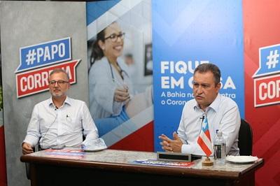 Governador anuncia cancelamento do São João e prorrogação da suspensão das aulas