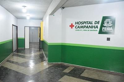 Hospital de Campanha de Feira de Santana começa a funcionar