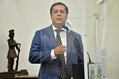 Vereador e presidente da Câmara Municipal de Feira de Santana, Fernando Torres (PSD).