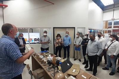 Prefeito de Feira de Santana busca parceria com o Cimatec para fomentar projetos em tecnologia no município