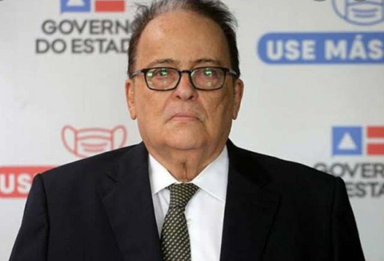 Secretário de Segurança Pública da Bahia, Ricardo Mandarino